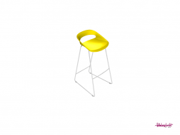 LED Bar chair, Yellow